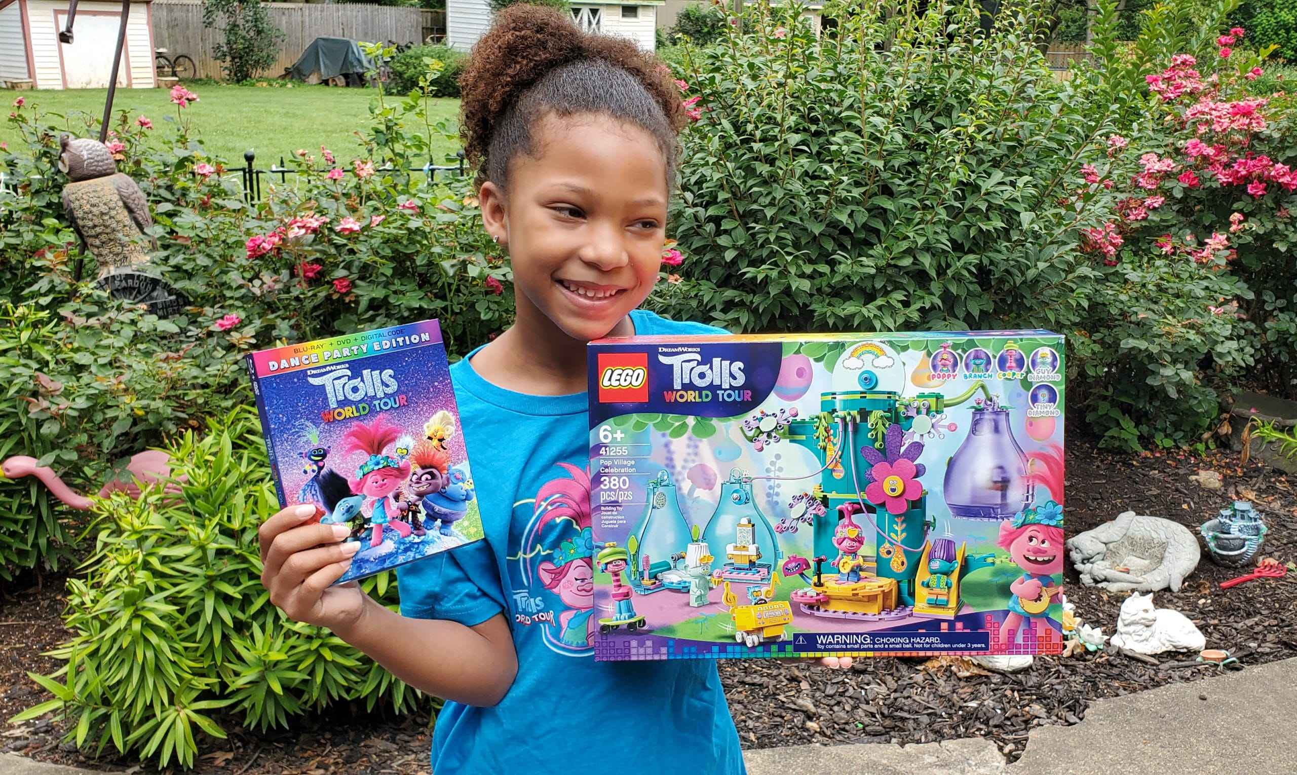 Trolls World Tour LEGOS DVD. View a special Trolls World Tour Unboxing in honor of the release of the Dance Party Edition, available on Digital 4K, Blu-ray, and DVD today!