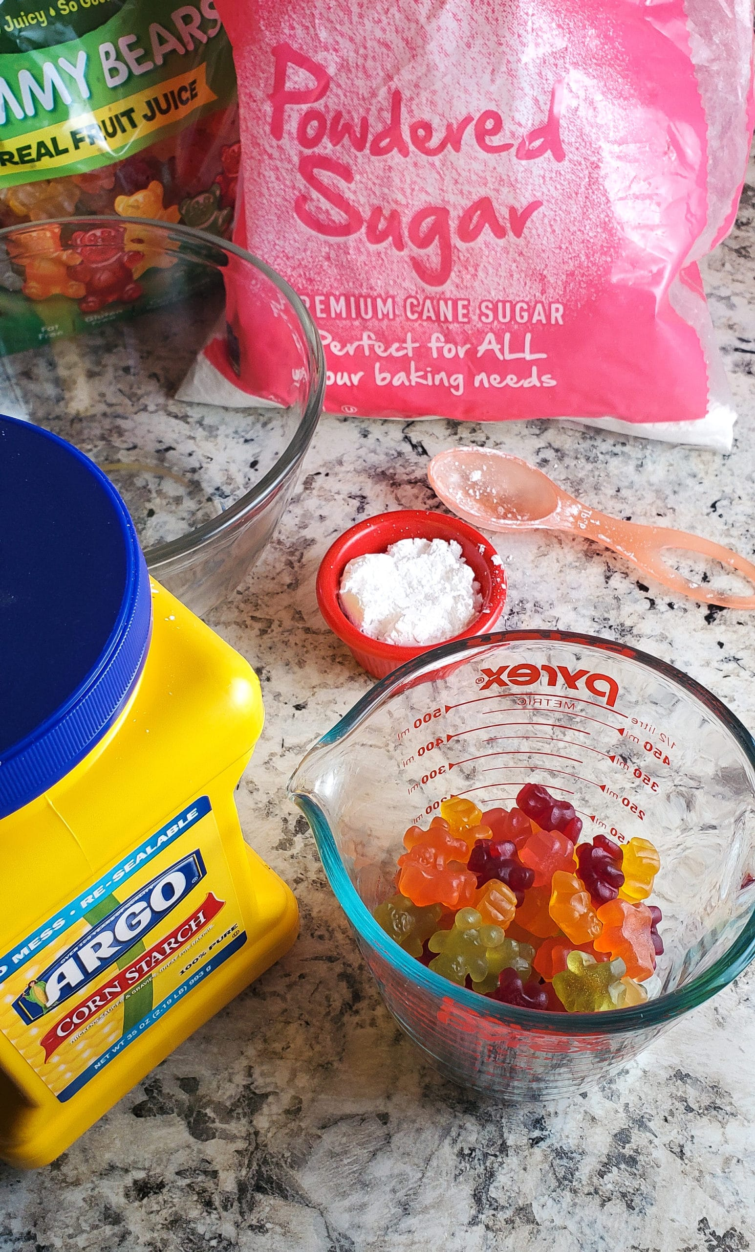 Gummy Bear Slime Ingredients. Get ready for loveable bear hugs, digital culture references, life lessons, and Gummy Bear Slime!Stack the bears up, squish them down and make this adventurous slime that you can actually eat!