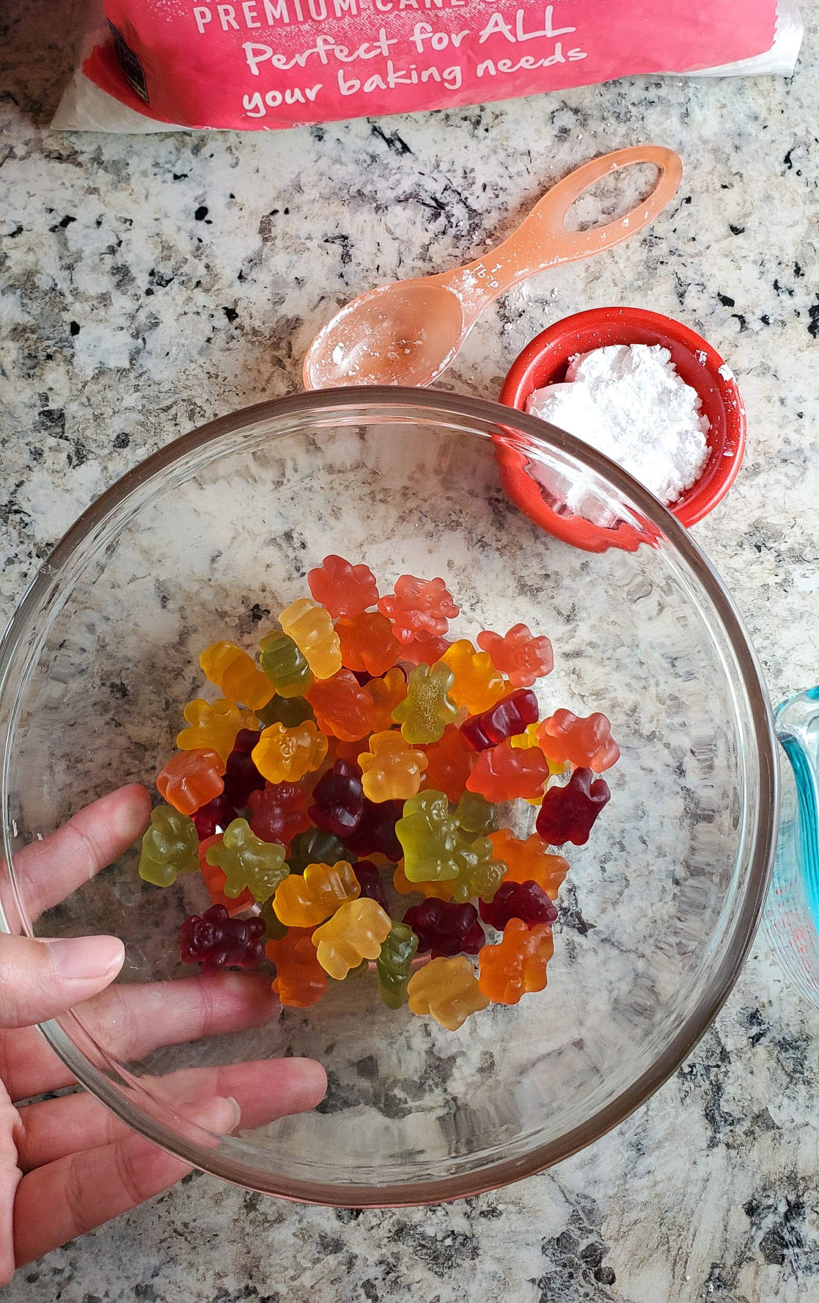 Gummy Bear Slime In Bowl. Get ready for loveable bear hugs, digital culture references, life lessons, and Gummy Bear Slime!Stack the bears up, squish them down and make this adventurous slime that you can actually eat!