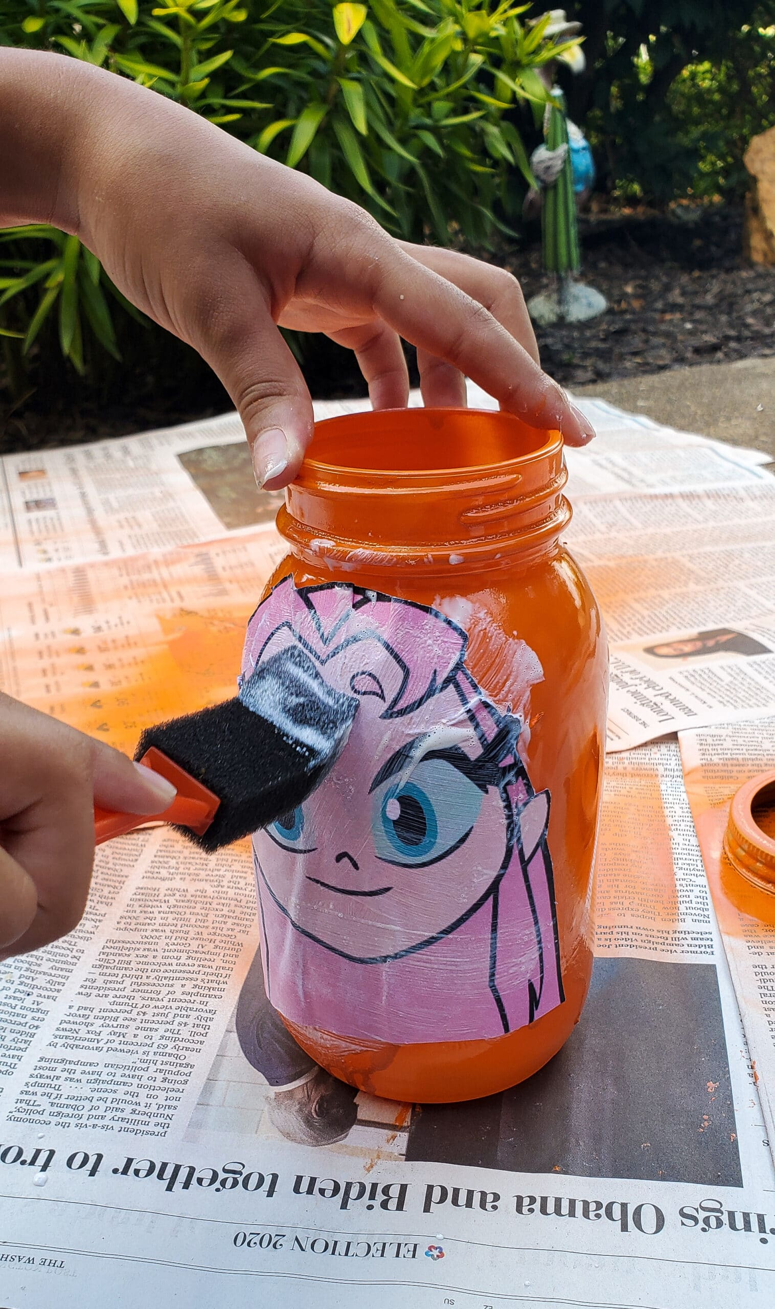 Teen Titans . Go!Character Banks Mod Podge CharacterIt's week 5 at Camp Warner Bros.! It's time to get crafty with this week's activity Teen Titans Go! Vs. Teen Titans Character Banks. Grab your printables on my blog, along with some more supplies to create your very own Teen Titans Go! vs Teen Titans Character Banks.