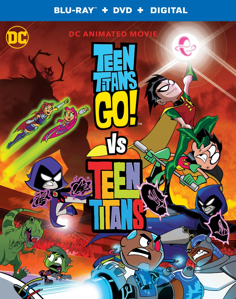 Teen Titans Go!VS Teen Titans DVD. Teen Titans Go! Vs. Teen Titansis now available to own on Digital, Blu-ray & DVD