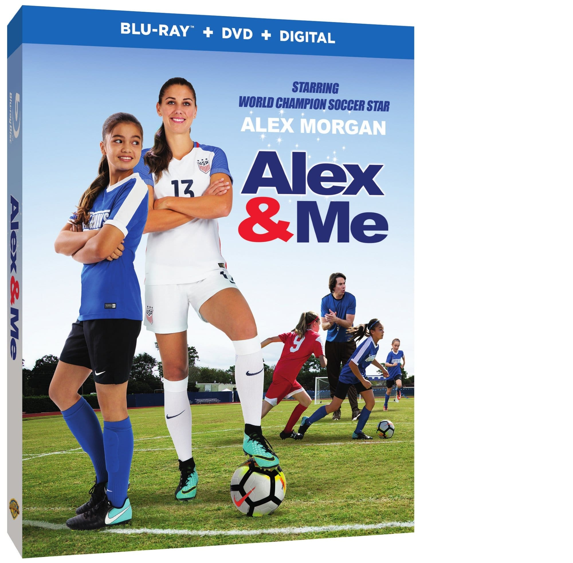 Alex & Me. Teenager Reagan Willis has one dream, to play soccer like her hero, Alex Morgan. Her bedroom is a shrine to all things Alex, including a life-size poster of the Olympic gold medalist. Yet in the Willis house, Reagan lives in the shadow of her prep football superstar brother, Logan.