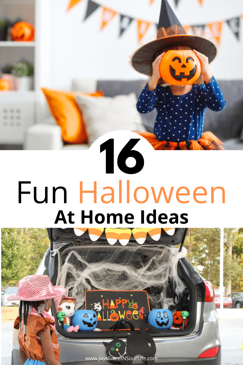 16 Fun Halloween At Home Ideas. Quarantine-O-Ween is the at-home alternative that is fun for both kids and adults. Check out these 16 Fun Halloween At Home Ideas for Quarantine-O-Ween 2020. Featuring some spooky fun ideas and ways you can celebrate this holiday season safely. There are some really fun ideas that everyone can enjoy.