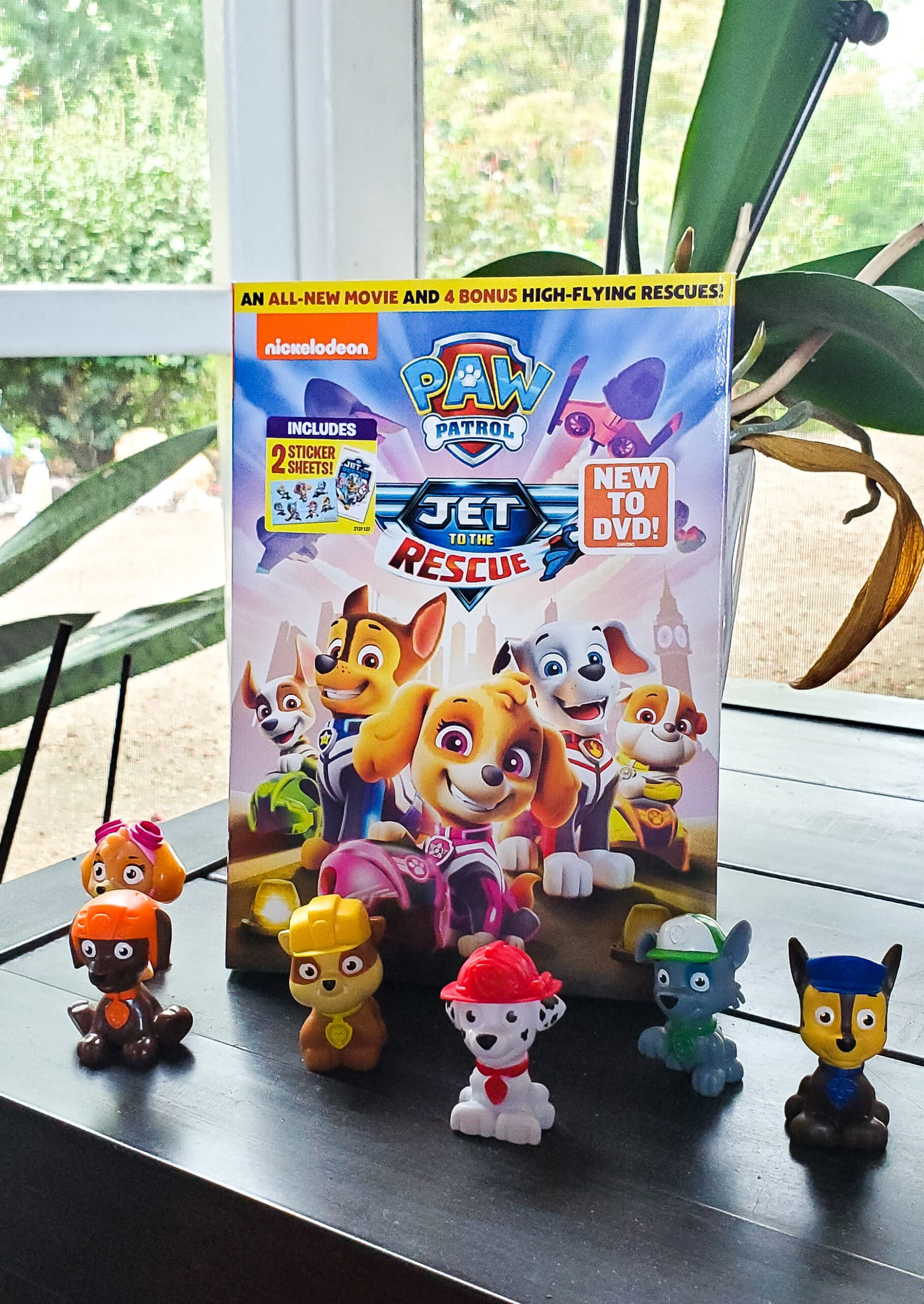 PAW Patrol Jet to the Rescue DVD Giveaway. Get ready for high-flying adventures with the PAW Patrol pups in the brand-new DVD PAW Patrol: Jet to the Rescue. Featuring an exclusive, all-new original TV movie and four fan-favorite episodes from the number-one ranked preschool show on television. Enter to win your very own PAW Patrol: Jet to the Rescue DVD in my special giveaway on my blog.