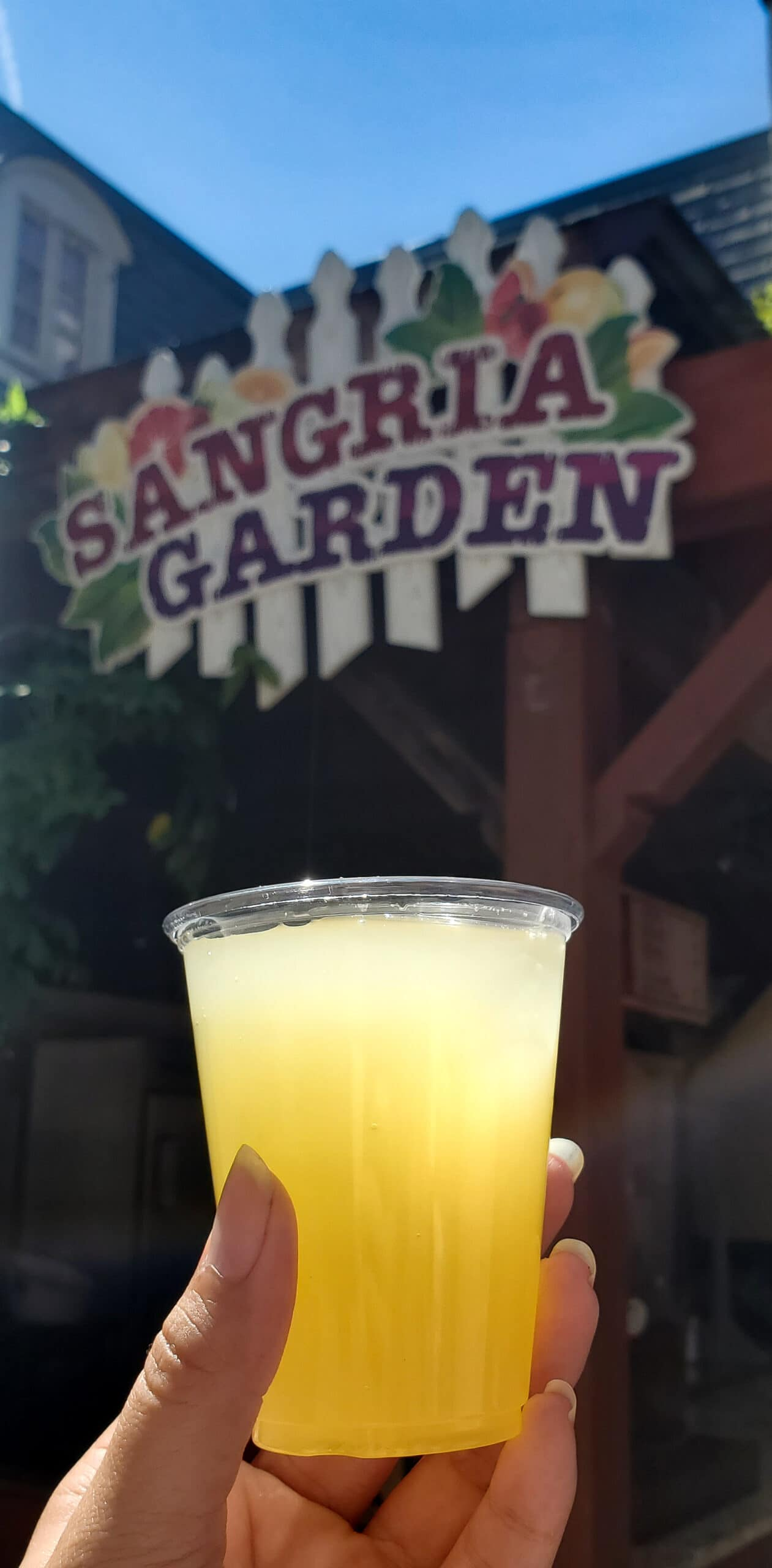 Taste of Busch Gardens White Sangria. Sip, sample, and soar at this limited-capacity during the Taste of Busch Gardens special event in Williamsburg, VA. Select areas of the park will be open so there is plenty of room to safely enjoy specialty food and drinks as you stroll through our 6 charming villages.