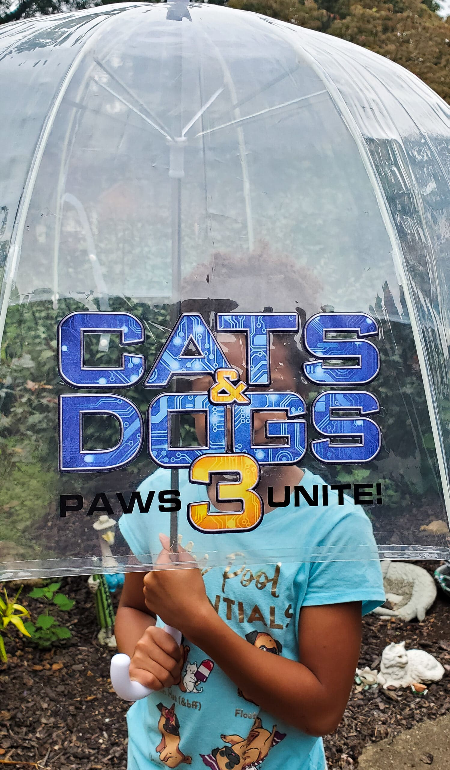 Cats and Dogs 3: Paws Unite! Umbrella. Discover who has the upper paw in Cats & Dogs 3: Paws Unite!,the next feature-length installment of the popular Cats & Dogs franchise from Warner Bros. Home Entertainment. Available on Digital on September 15 and on both Blu-ray Combo Pack and DVD on October 13.
