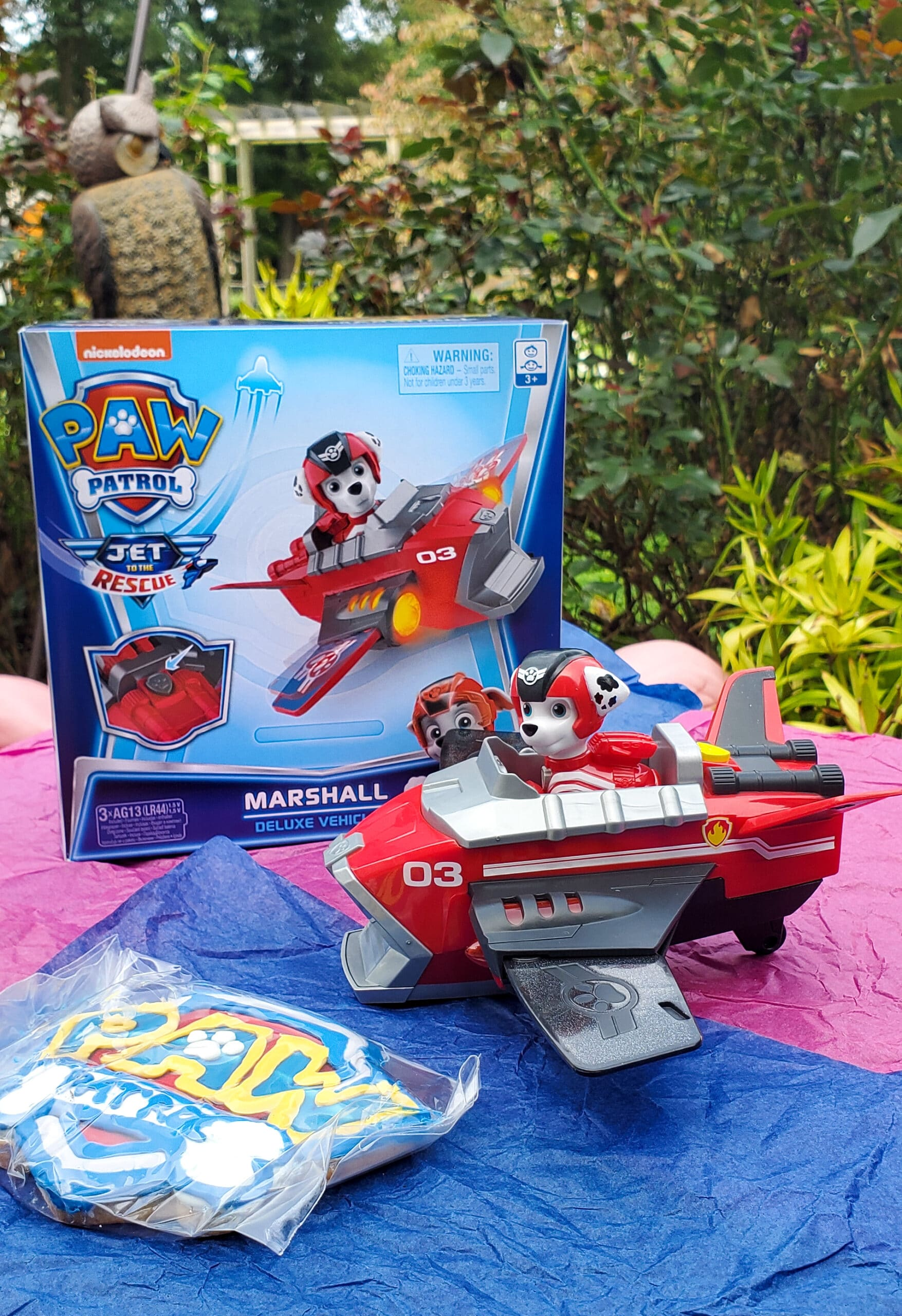 PAW Patrol: Jet to the Rescue Marshal Deluxe Vehicle. Get ready for high-flying adventures with the PAW Patrol pups in the brand-new DVD PAW Patrol: Jet to the Rescue. In celebration of the release of this special feature, Nickelodeon sent us a surprise box full of PAW Patrol goodies! View all of the fun new PAW Patrol: Jet to the Rescue themed toys available on my blog.