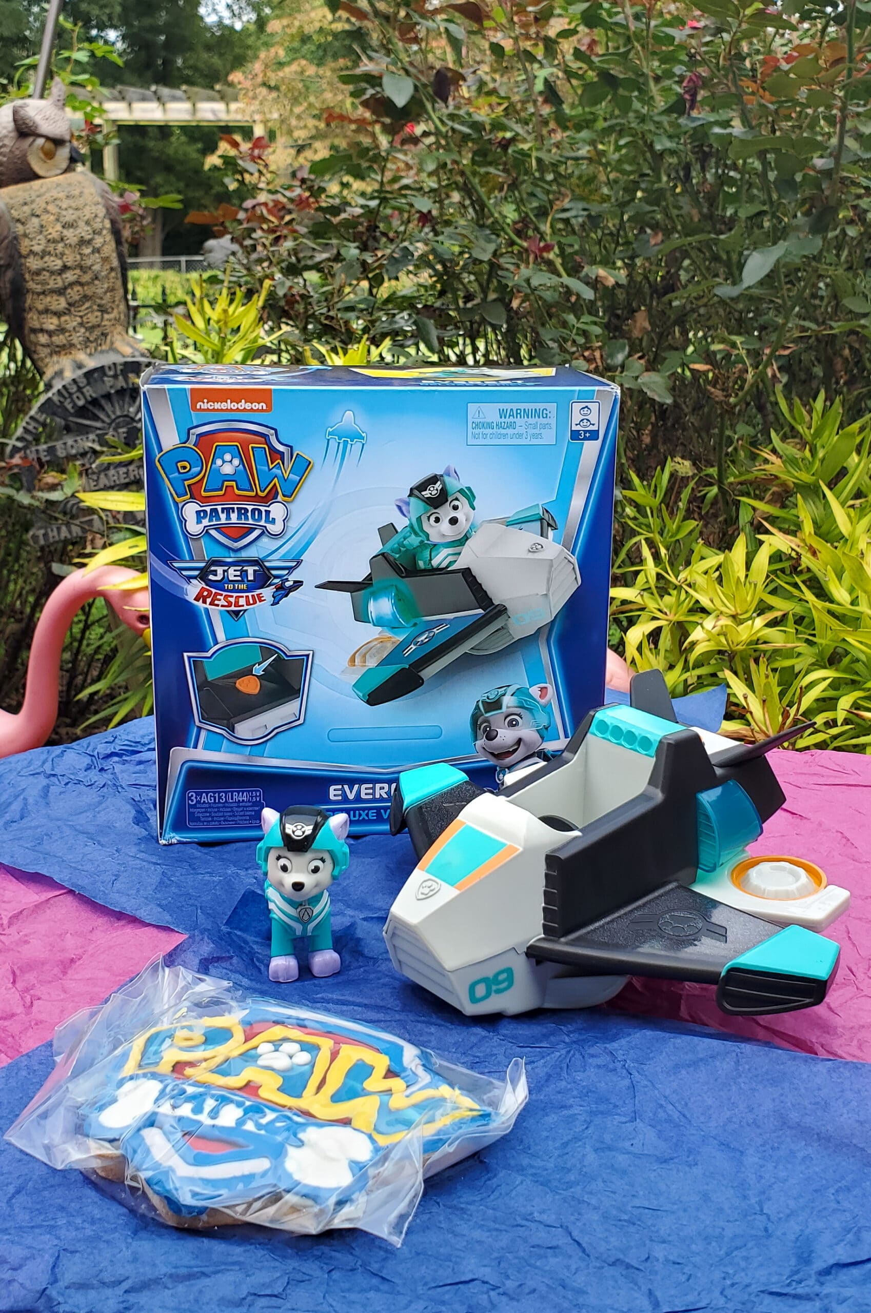 PAW Patrol: Jet to the Rescue Everest Deluxe Vehicle. Get ready for high-flying adventures with the PAW Patrol pups in the brand-new DVD PAW Patrol: Jet to the Rescue. In celebration of the release of this special feature, Nickelodeon sent us a surprise box full of PAW Patrol goodies! View all of the fun new PAW Patrol: Jet to the Rescue themed toys available on my blog.