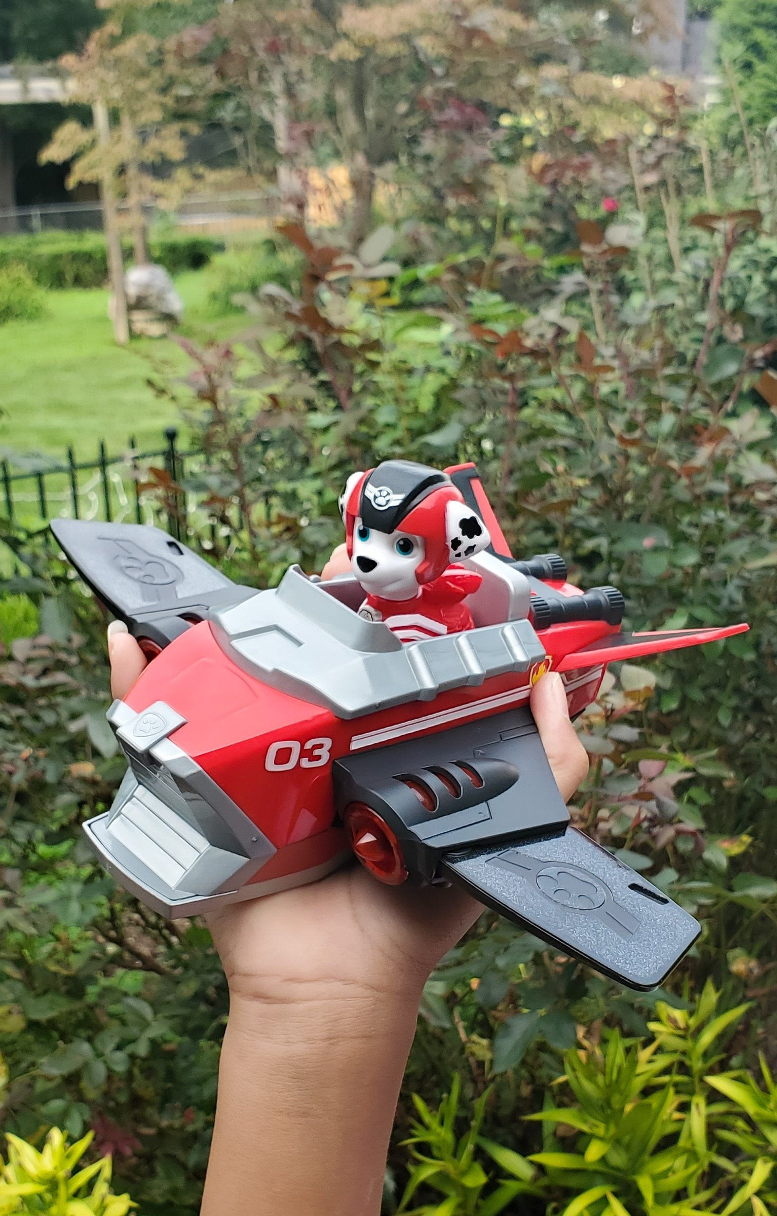PAW Patrol: Jet to the Rescue Unboxing Marshall. Get ready for high-flying adventures with the PAW Patrol pups in the brand-new DVD PAW Patrol: Jet to the Rescue. In celebration of the release of this special feature, Nickelodeon sent us a surprise box full of PAW Patrol goodies! View all of the fun new PAW Patrol: Jet to the Rescue themed toys available on my blog.
