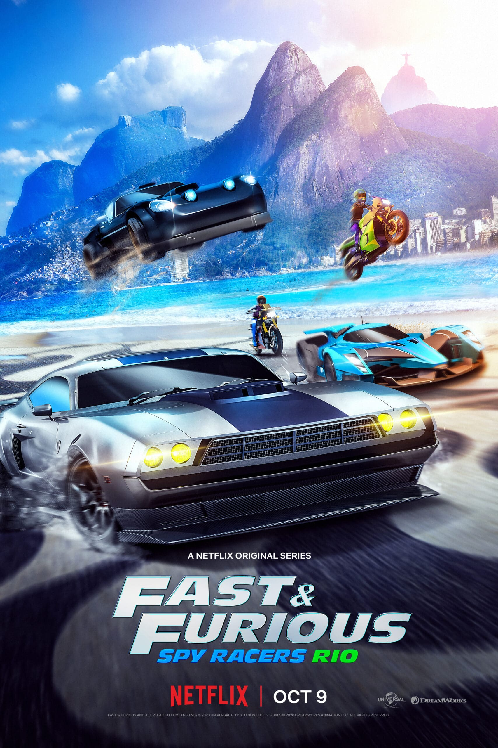 Fast & Furious: Spy Racers Trailer. Universal and DreamWorks Animation have released the second season trailer for the hit Netflix Original seriesFast & Furious: Spy Racers, which finds the team heading to Rio de Janeiro on October 9. Check out the full trailer below, as well as more information about what to expect in Season 2