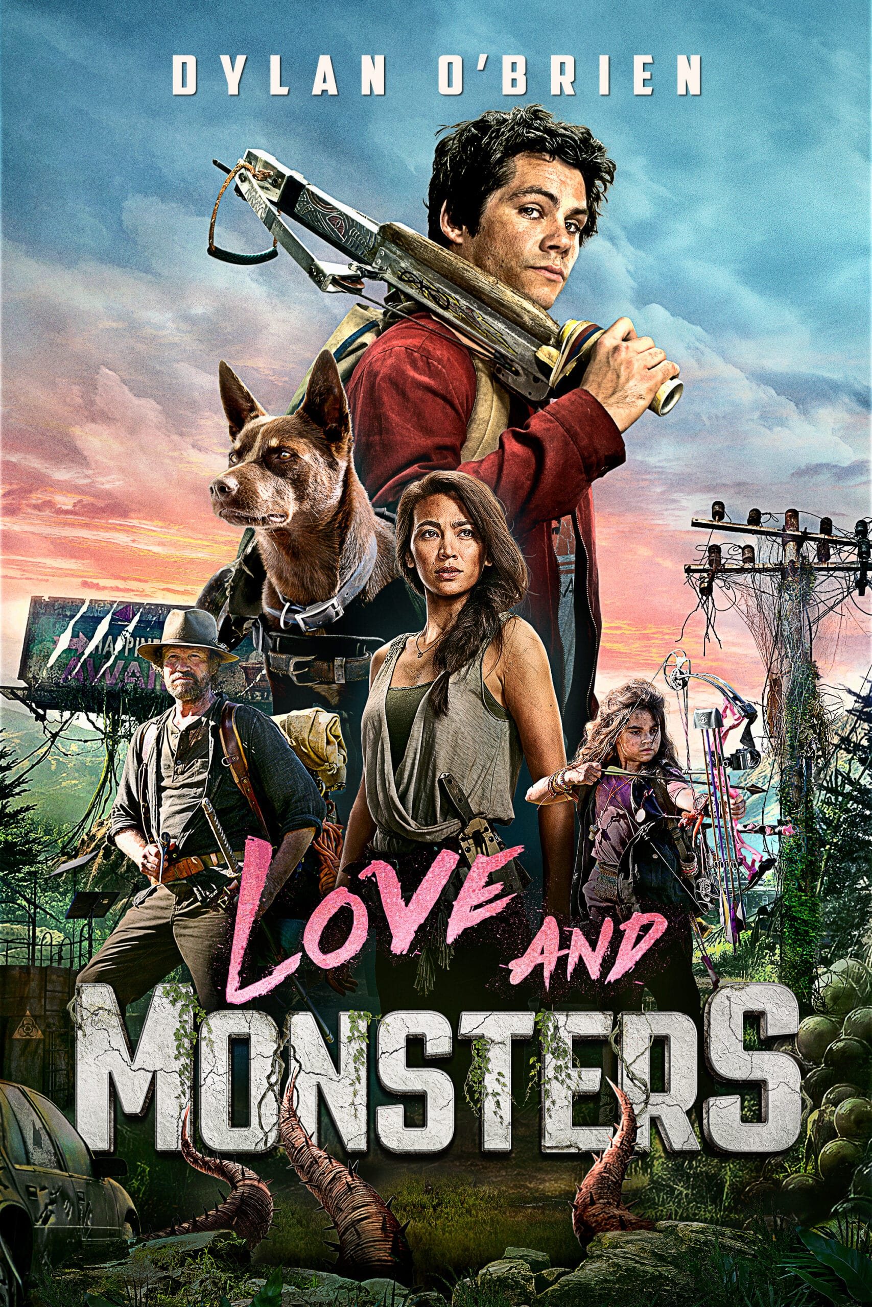 Love and Monsters Poster. Surviving in a post-apocalyptic world isn't easy, so I'm grateful that Paramount Pictures' sent me this fun survival kit from Love and Monsters to help me get through it. This falls most epic action-packed romance film, Love and Monsters, is now available on On Demand, and Digital.