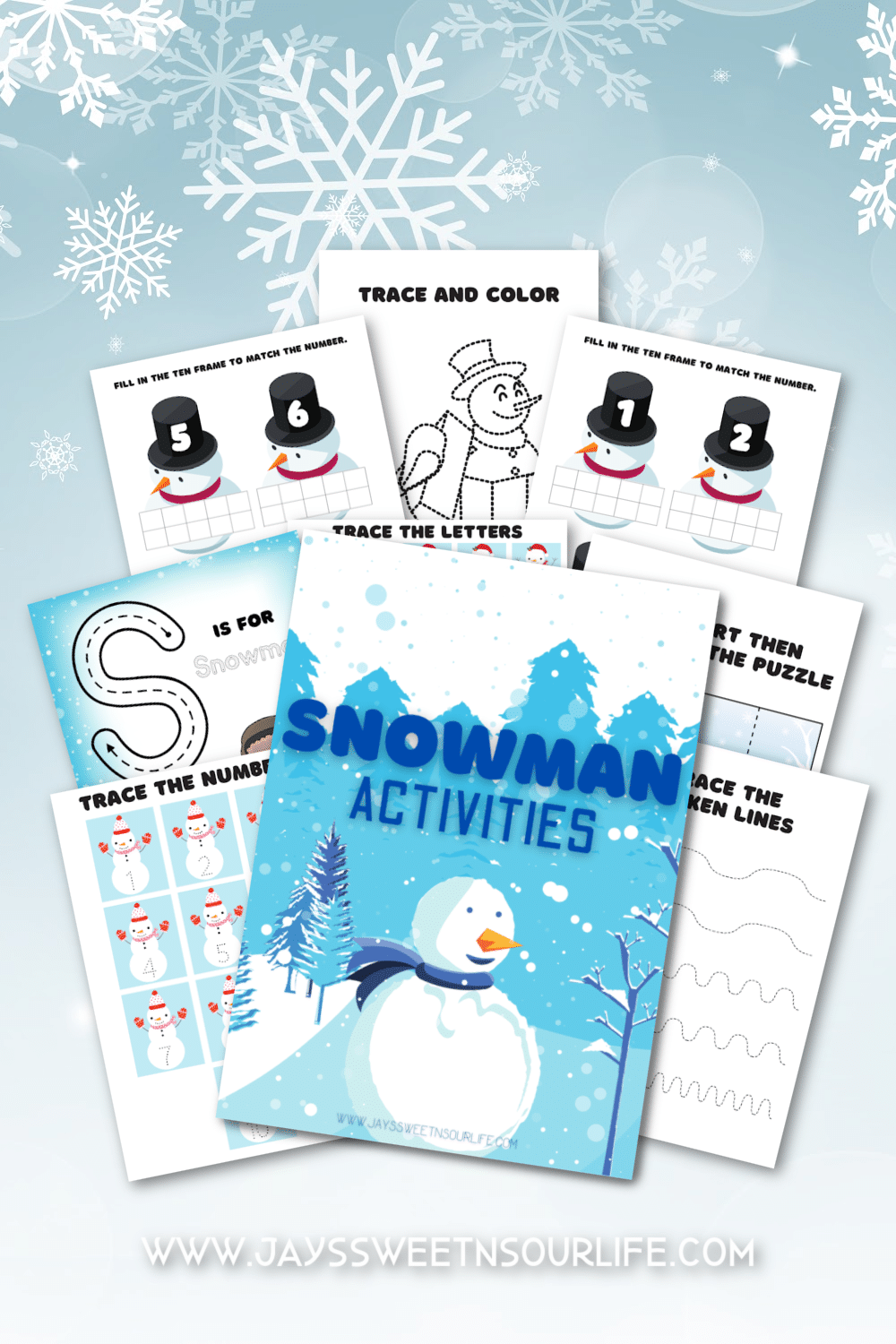Free Snowman Printables. Grab these Free Snowman Printables, filled with fun snowman themed activities, coloring sheets, and more! These Preschool Snowman Activities are a huge hit at any holiday event.