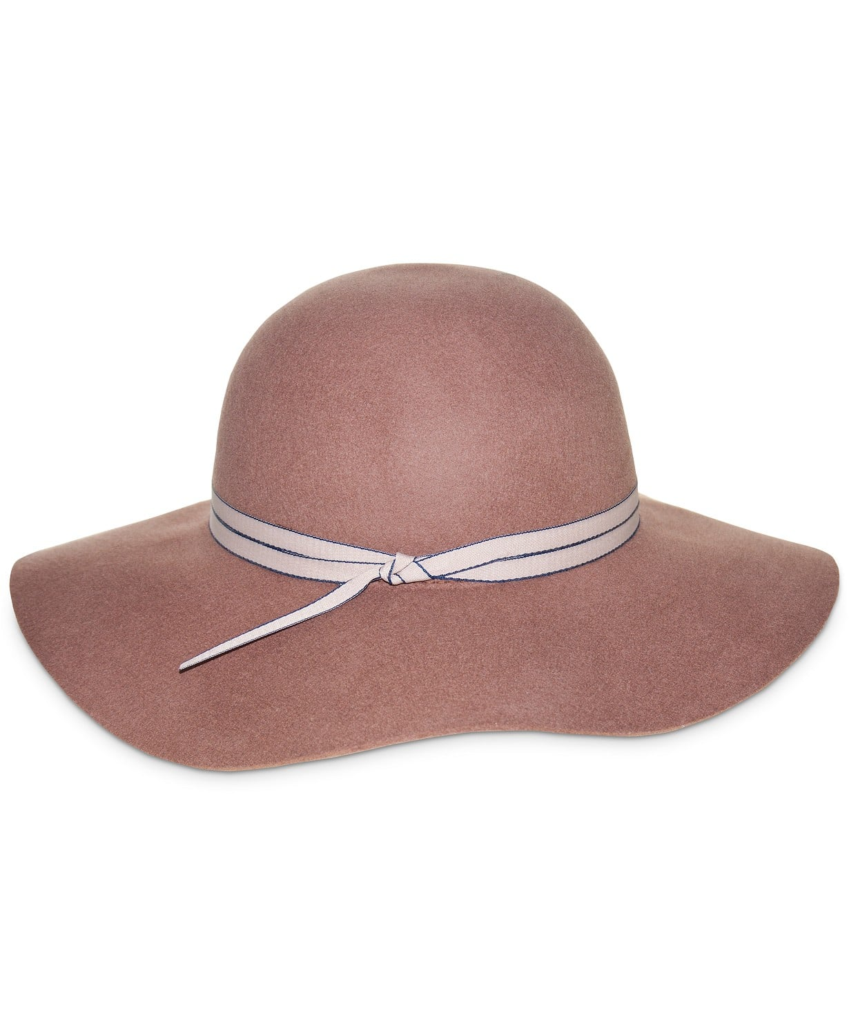 Complete your chic look with this sophisticated vibes of this felt floppy hat from Nine West.