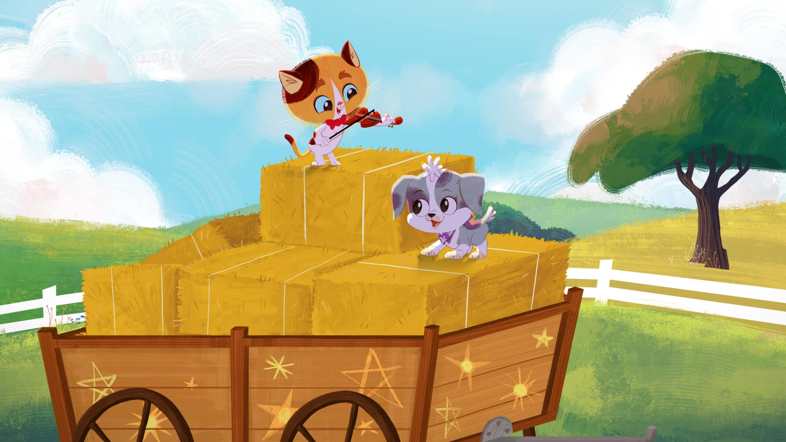 RHyme Time Town Cole, Daisy. Discover more about your favorite characters from the colorful world of Rhyme Time Town. Join Daisy and Cole in 10 all-new singing adventures through the Rhyme Time Town Sing Along, coming to Netflix on December 22nd!