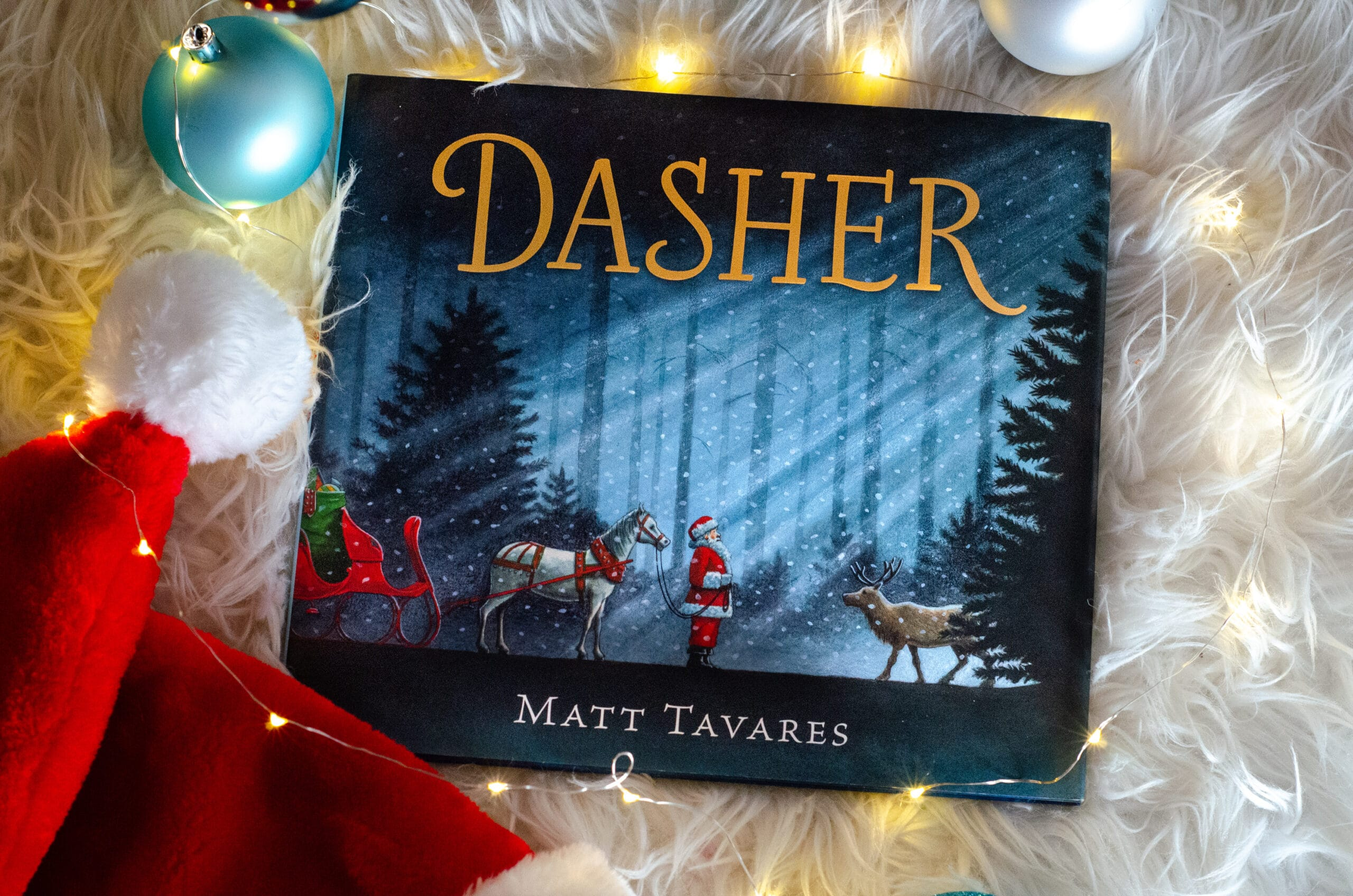 Dasher. Give the gift of literature this holiday season! These wonderful holiday books for kids make great stocking stuffer gifts. Create your very own Christmas Tree Advent Calander using these Children's holiday books, simply stack them into a tree for a new fun holiday tradition.