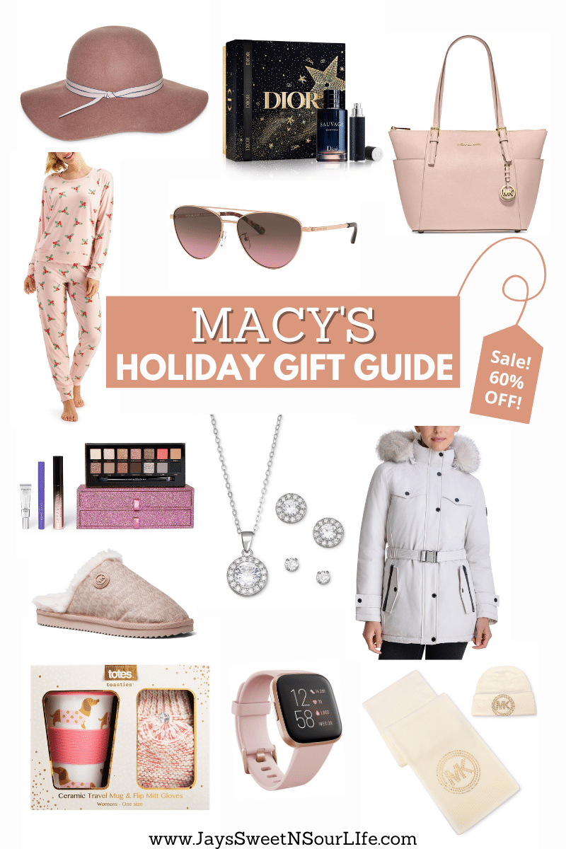 Save big on this season's hottest gifts from Macy's! Shop from the comfort of your home and Save Up to 60% During Macy's One Day Sale. Hurry though! The sale only lasts from December 18th through December 20th, 2020.