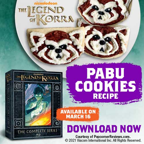 Say hello to Team Avatar's cutest mascot! In celebration of the upcoming release of The Legend of Korra - The Complete Series Limited Edition Steelbook Collection, available on March 16th, we're so excited to share this adorable Pabu Cookie recipe.