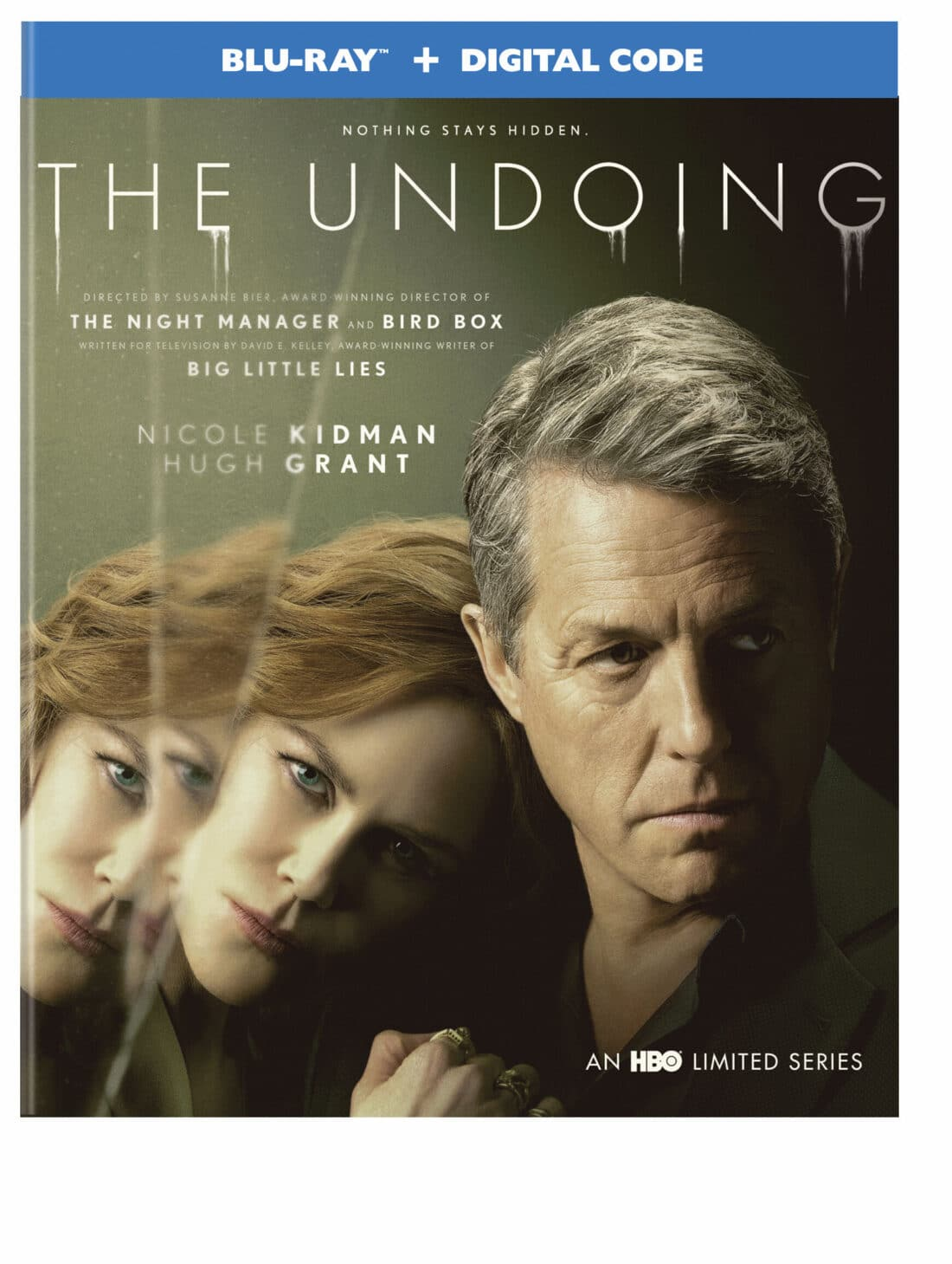 The Undoing An HBO Limited Series. Nothing stays hidden! The highly anticipated six-part limited series, The Undoing; An HBO Limited Series from Warner Bros. Home Entertainment arrives on Blu-ray and DVD on March 23, 2021.