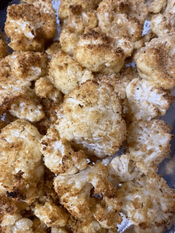 These baked cauliflower bites are soon to become a family favorite. They are also easy and only take a few ingredients.
