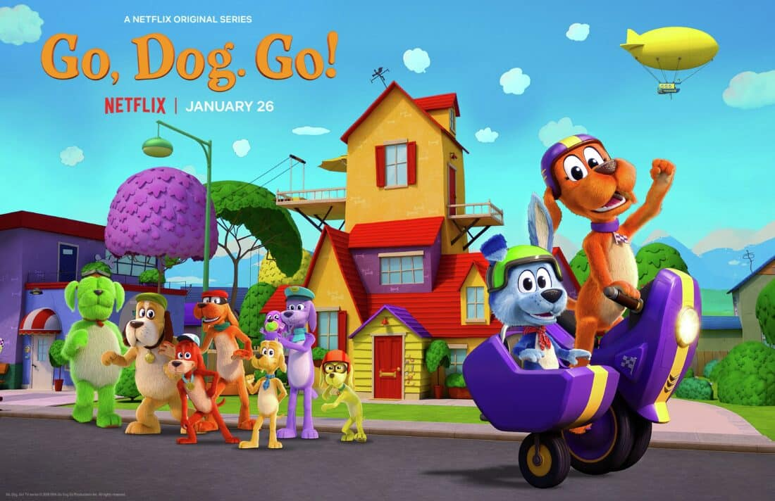 An exclusive interview with DreamWorks Go, Dog. Go! Executive Producer Adam Peltzman, where we talk about the making of the series and more. Ride along with the Pawston pack when the 9-episode first season speeds onto Netflix, today!