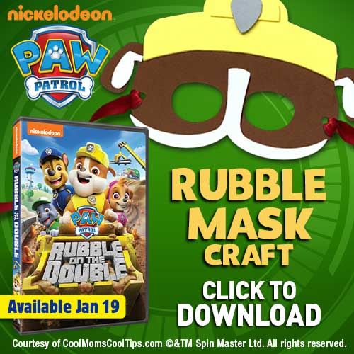 Get ready to wreck and roll as Rubble with this fun DIY craft! In celebration of the release of PAW Patrol: Rubble on the Double, available now on DVD