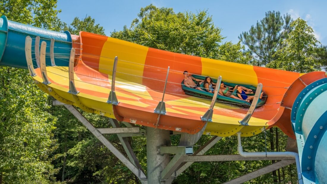Warm temperatures and summer fun are quickly approaching with the opening of Water Country USA®.  On May 22, the Williamsburg park will reopen with a splash, allowing guests to safely enjoy cool beach vibes, resort-style amenities, and thrilling water slides and attractions.