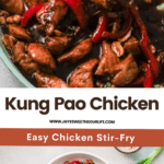 Better than Chinese takeout, make this Kung Pao Chicken at home. A delicious Asian dish that's perfect to serve with rice, noodles, or even to stuff sandwiches.