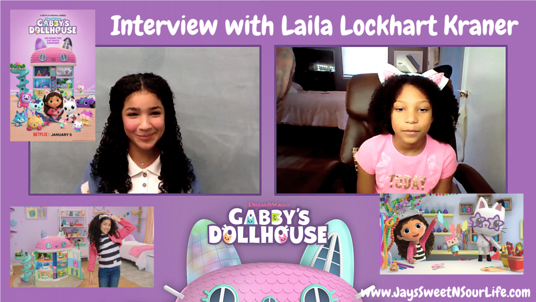 Any adventure can unfold when we play in DreamWorks Gabby's Dollhouse! Streaming now on Netflix! Esuun and I sat with the star Laila Lockhart Kraner, to ask some of our most burning questions. Watch the full interview to learn more!