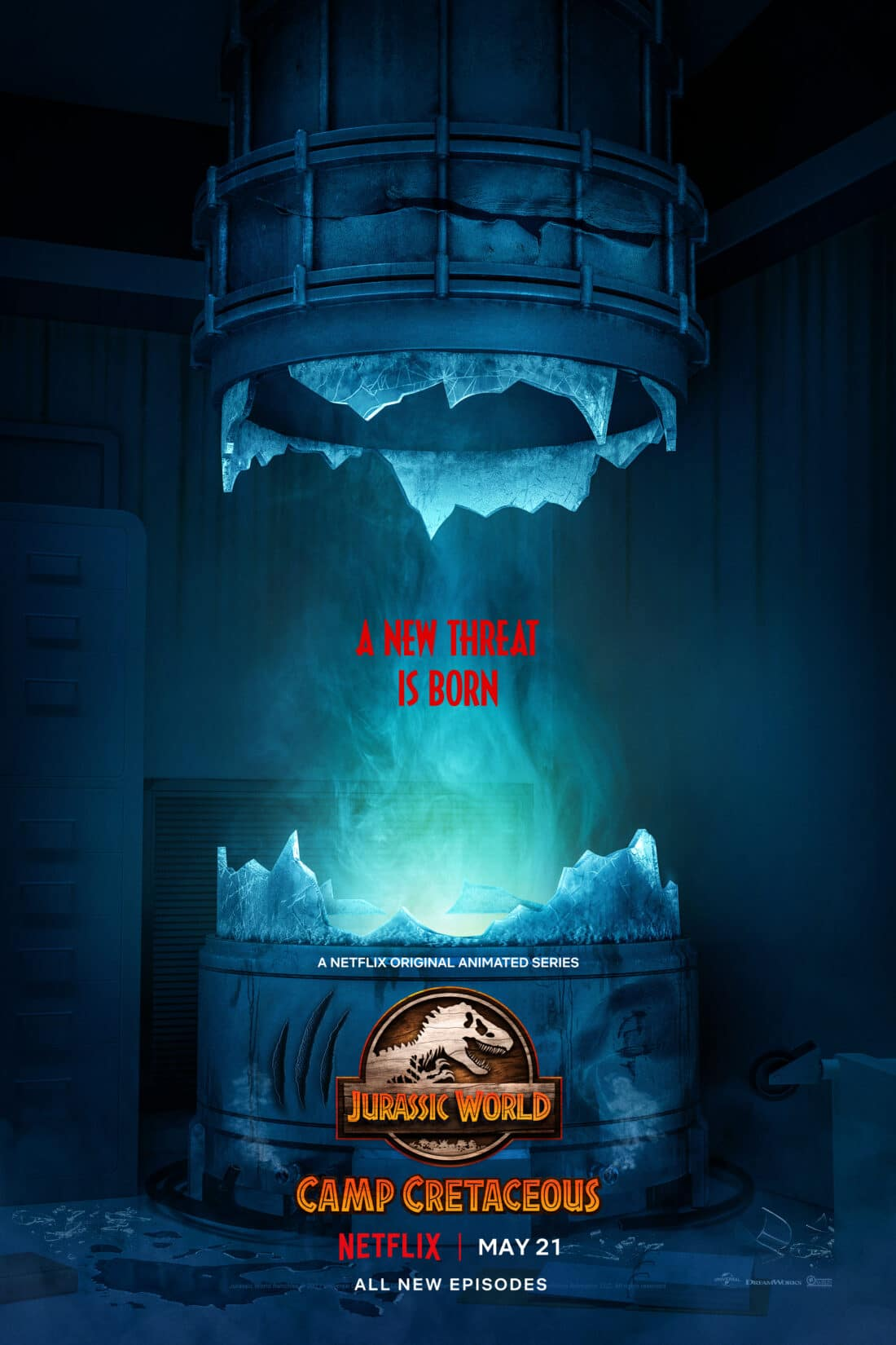Calling all dinosaur fans! Jurassic World: Camp Cretaceous Season 3 is coming back to Netflix on May 21, 2021. Watch as the story continues with 10 new episodes set to air on Netflix. This third season reveals a new, sinister threat will emerge on Isla Nublar.