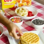 I love starting my family's mornings off with a delicious hearty breakfast. To keep my kids supercharged for school and adventures beyond, I feed them Eggo Homestyle Waffles. It's a breakfast option that the whole family can agree on.
