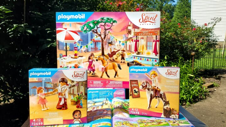 Brand NEW Spirit Untamed PLAYMOBIL Sets are now available, featuring your favorite characters and scenes from the film. DreamWorks Spirit Untamed is now playing in theaters everywhere!