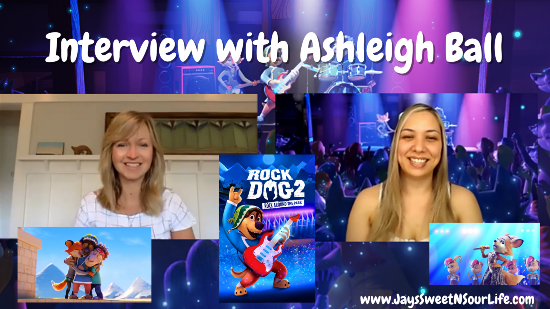 Interview with Ashleigh Ball, who voices the character Darma in the rocking sequel Rock Dog 2: Rock Around the Park. Get Ready to Bark 'N' Roll! The True Blue band is back to rock the place when Rock Dog 2: Rock Around The Park arrives on Digital, DVD, and Blu-ray on June 15th.