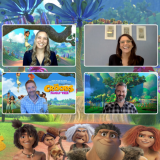 Don't miss my exclusive Interview with DreamWorks The Croods: Family Tree Executive Producers and Cast. I'm sharing some fun facts about the new series, in my video interview with Todd Grimes, Mark Banker, and Amy Landecker.