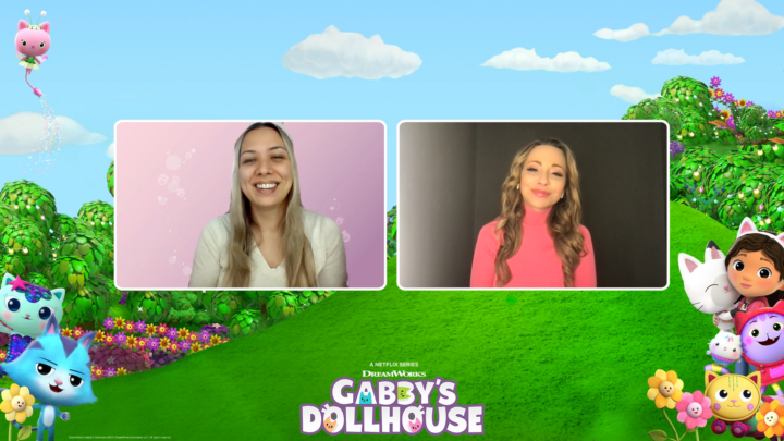 Watch my exclusive Interview with Tara Strong the voice behind the characters, 'Mommy Box' and 'Fairy Kitty'. During the interview she shares some fun facts about herself and what to expect in Season 3 of DreamWorks Gabby's Dollhouse, streaming now on Netflix.